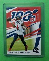 2019 PANINI CHRONICLES NFL 100 - DESHAUN WATSON BLUE 53/99 HOUSTON TEXANS