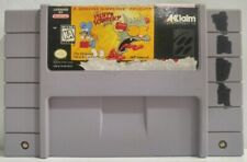 The Itchy and Scratchy Game for Super Nintendo SNES Acclaim Cart Only Simpsons