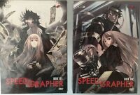 SET COFANETTI 6 DVD ANIME YAMATO MANGA-SPEED GRAPHER Box.1,2 SERIE COMPLETA dark