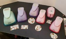 Marvy Uchida PUNCH LOT Circle + Scallop + Oval + Rectangle + Square