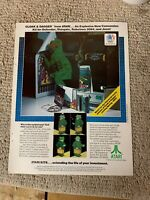 Vintage Cloak Dagger Arcade Game Owners Manual W Illus Parts List Pg164b Ebay
