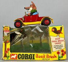 CORGI COMICS -BASIL BRUSH AND HIS CAR No. 808- VINTAGE MODEL VEHICLE BBC -BOXED-