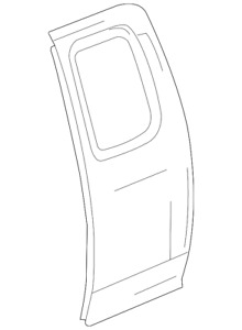Genuine GM Outer Panel 15113619