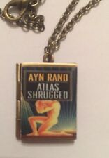 Atlas Shrugged Book Photo Locket