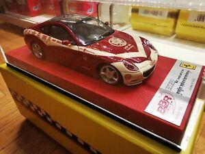 BBR 1/43 Ferrari 612 Scaglietti Premium Edition Red Leather Base Limited 14/20