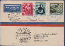 """Liecthenstein - 1932 - Volo Graf Zeppelin   """"Vaduz - Friedrichshafen"""""""
