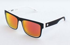Spy Discord Sunglasses 673119209365 - Whitewall/Happy Gray Green w/Red Mirror