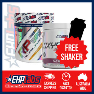 EHPlabs OxyShred & RP Max | Bundle | FREE SHAKER & SHIPPING
