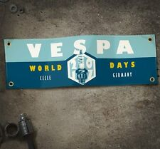 VESPA WORLD DAYS 2017 gamba SCUDO Banner VESPA ROLLER SCOOTER