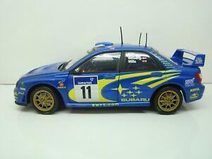 SOLIDO - 1/18 - SUBARU IMPREZA WRC - 46° TOUR DE CORSE 2002 - #11 -