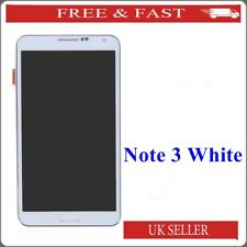 SAMSUNG Galaxy Note 3 N9005 display LCD touch screen digitizer + frame Bianco