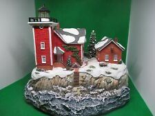 Harbour Lights Christmas 2006 Conanicut, Ri Led Lighthouse #721 Hand-Numbered