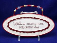 Grasslands Road Welcome Hearts Home Plaque