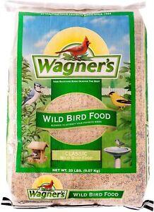 Wagner's 52004 Classic Blend Wild Bird Food, 20-Pound Bag