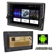 "9"" Car Double 2DIN GPS Radio Android 8.1 Player ROM 16GB Knob Button Wifi OBD TV"