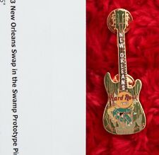 Hard Rock Cafe Pin New Orleans PROTOTYPE Swap in The SWAMP Guitar special event