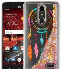 ZTE Blade Spark / ZTE Grand X 4 - Floating Liquid Glitter Star DREAMCATCHER Case