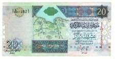 LIBYA 20 Dinars ND (2002) P-67 VF Prefix 69 Banknote Paper Money