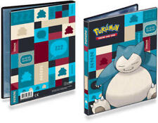 Ultra Pro Pokemon 4 Pocket Snorlax Portfolio Card Binder Holds 80 Cards SKU#179