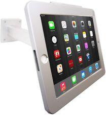 iPad Wall Mount Desktop POS Anti-theft Stand Enclosure w/Security Lock Kiosk