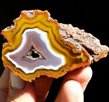 "2.8"" Amazing Natural Colorful AGATE - TOP QUALITY ! - Africa, Morocco, Agouim"
