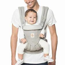 Ergobaby Carrier, Omni 360 todas las posiciones de transporte portador de bebé, Gris Perla