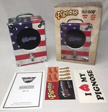 "NEW Limited Edition Series Pignose 1776 ""OLD GLORY"" Portable Amp Battery Powered"
