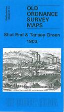 OLD ORDNANCE SURVEY MAP SHUT END & TANSEY GREEN 1903