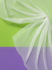 20% Discount: Chiffon 3.5,Pure Silk,Natural White,90 cm Br,Meterw (€ 9,78 / Qm)