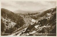 WICKLOW – The Scalp and Sugar Loaf Mountain Real Photo Postcard rppc – Ireland