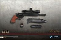 "1/6 PYTHON ZY2009F Black/Silver Gun Toy Model ZYTOYS F/12"" Action Figure"