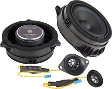 """Ground Zero 4"""" 2 Way Component Speaker Set Upgrade Kit BMW X6 F16 Front"""