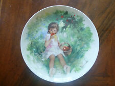 Marie-Ange Collector's Plate The Durand's Children Collection