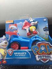 Paw Patrol Apollo's Cachorro Móvil Nueva versión difícil de encontrar