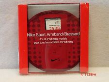 Nike Sport Armband iPod Nano Models - Red - Accessible Controls, For Apple