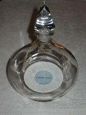 Vintage Guerlain L Heure Bleue Perfume Bottle & Glass Stopper Cologne 17 OZ 11""