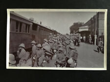 CHINA BOXER REBELLION BRITISH ARMY ON TRAIN FROM TIENTSIN TO PEKING 八国联军英军进京