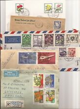 MIXED EUROPEAN COVER LOT-(82) Covers some nice cancels/cachets, FDCs