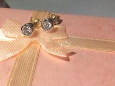 Beautiful 9ct White Gold and Diamond Stud Earrings.
