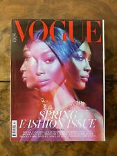 VOGUE BRITISH - MARCH 2019 - NAOMI CAMPBELL by STEVEN MEISEL