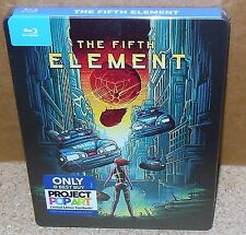 THE FIFTH ELEMENT Steelbook Only Best Buy (Blu-Ray 2012) NEW and SEALED