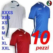 Completi Calcio Calcetto stock 10 maglie kit Offerta libera scelta uomo bambino