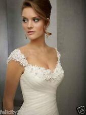 Custom NEW White/Ivory Wedding dress Bridal Gown Size 4-6-8-10-12-14-16-18-20-22