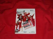 Wii HIGH SCHOOL MUSICAL DANCE 3