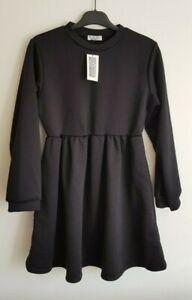 Rokoko Women's Dress Black Size 10, Skater Tee Long Sleeve Autumn New with tags