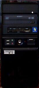 Zoostorm 7910-4213- Pentium D 1.8GHz Dual Core CPU - 4GB RAM - 500GB HD - Win 10
