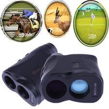 600m 6X Laser Range Finder Monocular Telescope Golf Hunting Handheld Rangefinder