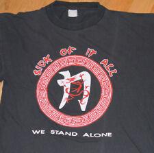 *1992 SICK OF IT ALL* vtg concert Europe Tour shirt (XL) 90's Hardcore Punk Band