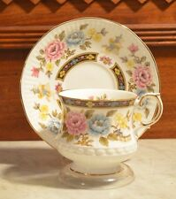 "Queen's Rosina China "" Cathay "" Cup and Saucer Made in England"