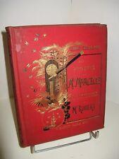 DESBEAUX PROJETS MARCELLE & ROBERT 1885 Illustré CARTONNAGE HORLOGERIE MEDECINE